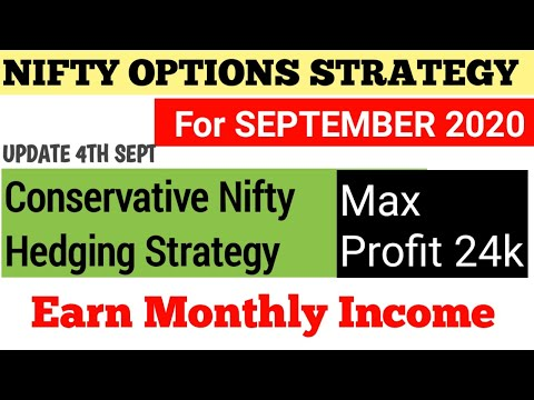 NIFTY OPTIONS STRATEGY SEPTEMBER MONTH UPDATE 4TH SEPTEMBER |  ZERO LOSS OPTIONS STRATEGY