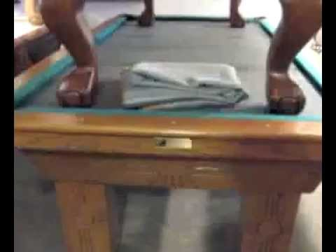 Denver Pool Tables How To Find Your Pool Tables Makemodel YouTube - Pool table identification