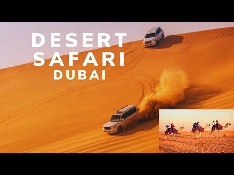 DUBAI DESERT SAFARI | DUNE BASHING | BBQ DINNER |  BELLY DANCE