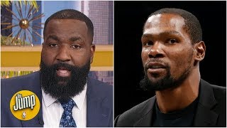 Westbrook is Mr. Thunder: Kendrick Perkins defends his Twitter beef with Kevin Durant | The Jump