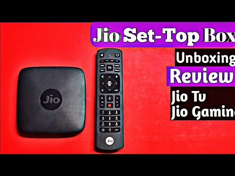 Jio Set Top Box Unboxing And Review Jio Tv Jio Gaming Jio STB All Explained