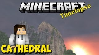 Minecraft Timelapse | Island Of The Sky Pt1 :Cathedral Hall