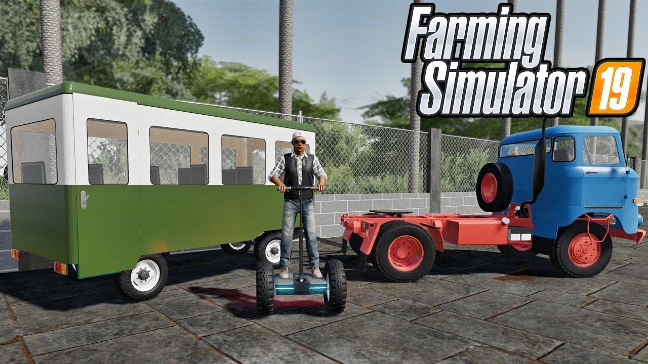 New Mods! Segway, W50 Semi, & Useless Trailer? (22 Mods) | Farming Simulator 19