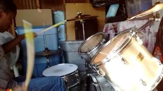 Andy Mineo superhuman drum cover