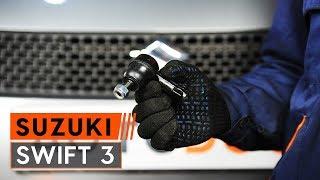 Ako vymeniť čap riadenia na SUZUKI SWIFT 3 [NÁVOD AUTODOC]