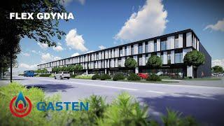 GASTEN S.A. | FLEX GDYNIA | Budynki magazynowo-biurowe