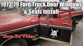 New Precision Weatherstripping Seal Kit FOR 1973-79 FORD F-SERIES