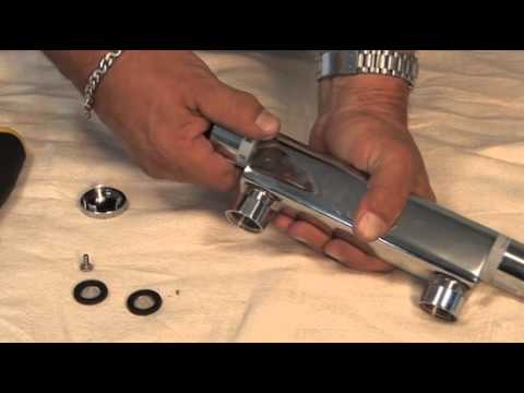 Artisan shower thermostatic cartridge - YouTube