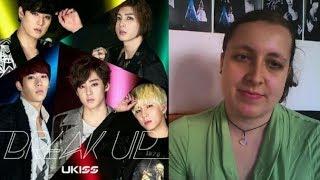"MV Reaction ~ U-KISS ""Break Up"""