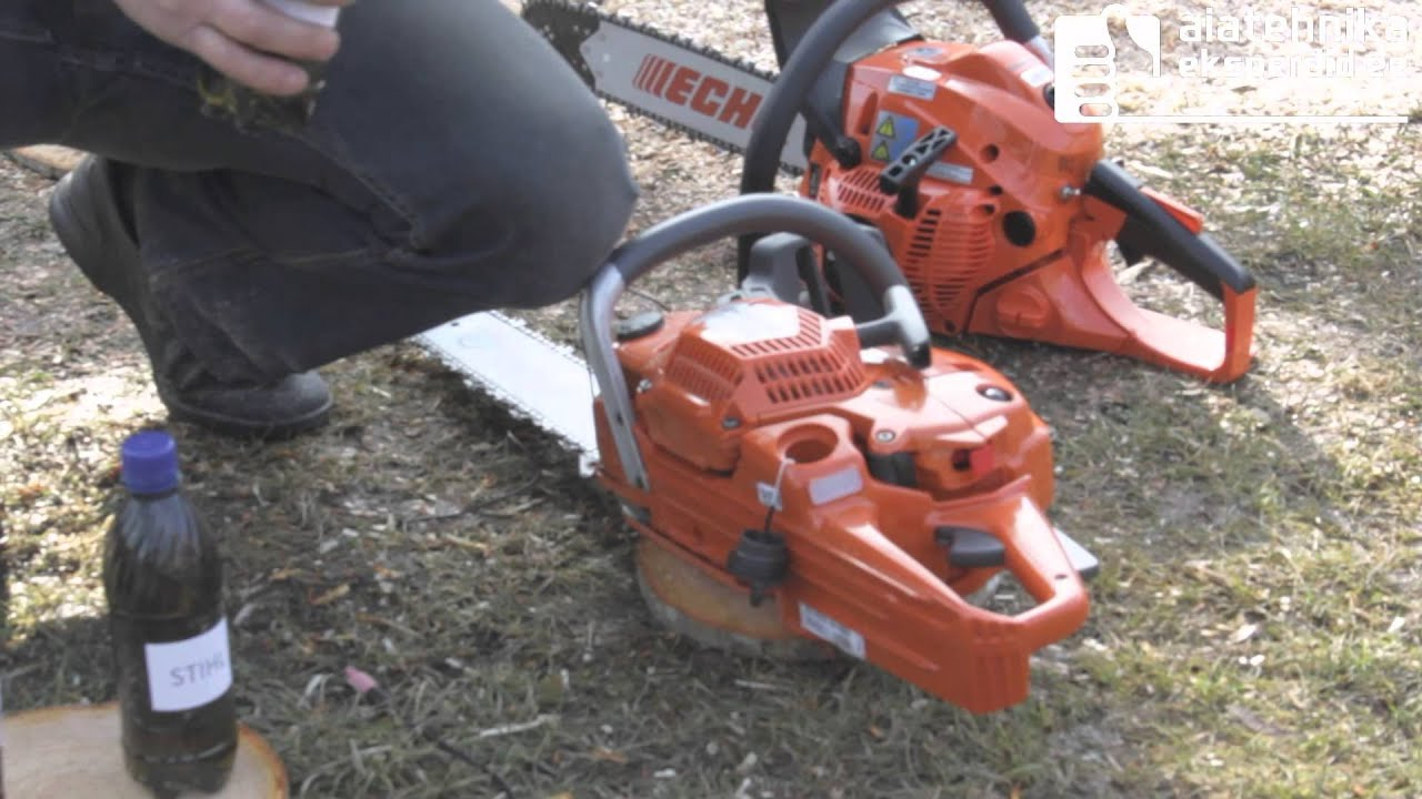Gemeinsame ECHO CS-500ES vs Husqvarna 545 vs Stihl MS-261 - YouTube @GB_37