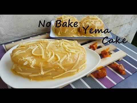 No Bake Yema Cake | How To Make Yema Cake | Eggless Cake Base | Simple Cake| Easy Cake Recipe
