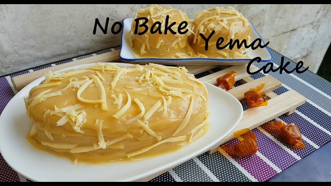 How To Make Yema Cake