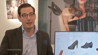 Dominik Benner und Schuhe24.de in der Hessenschau | Schuhe24.de
