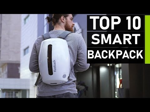 Top 10 Best Smart Backpacks for Travel in 2020