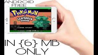 pokemon leaf green hack mod apk