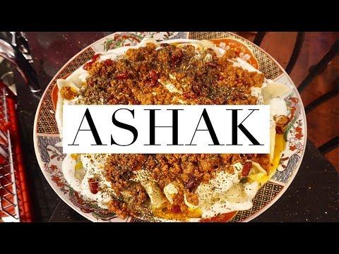 KOH FOOD | HOW TO MAKE AASHAAK | AFGHAN