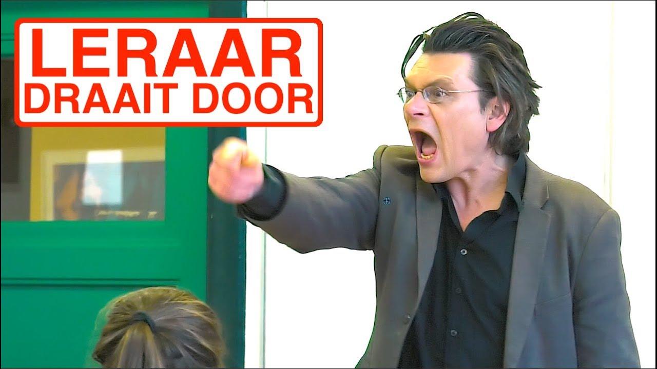 HELP LERAAR DRAAIT DOOR