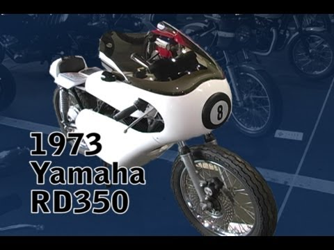 Clymer Manuals RD350 Cafe Racer Vintage Retro Restored Restoration Classic Motorcycle Manual Video