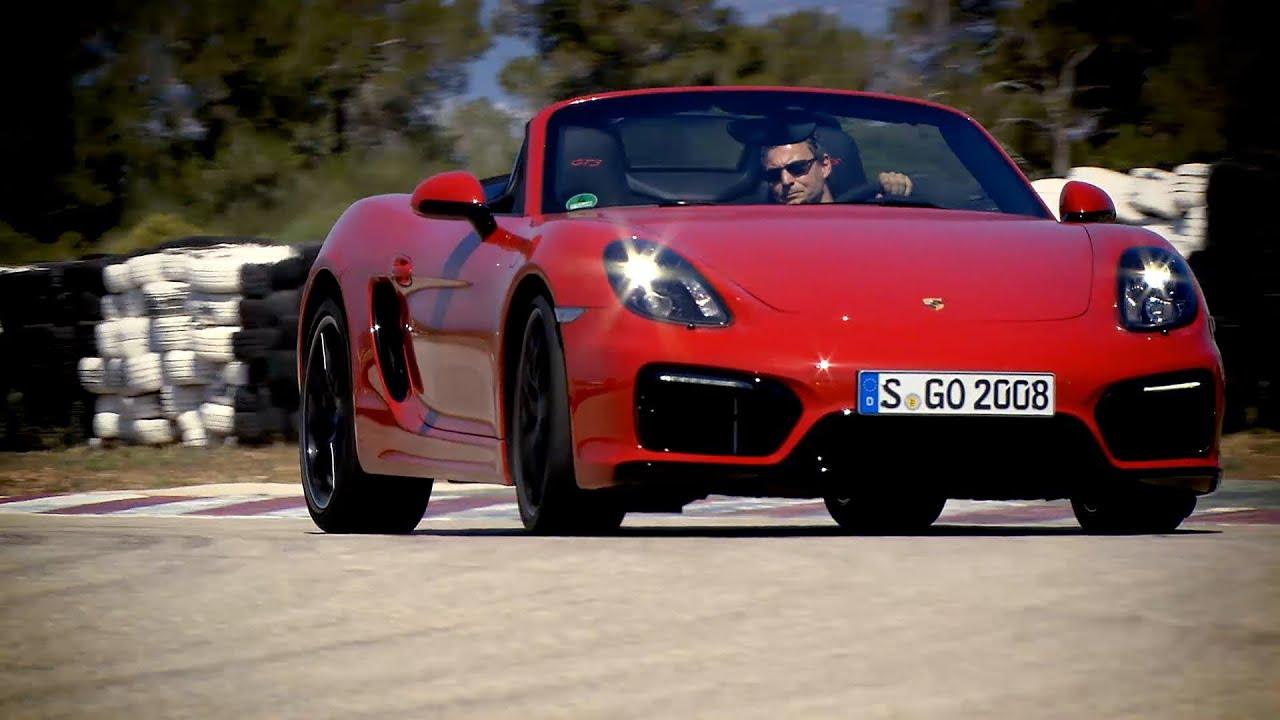 new 2015 porsche boxster gts on racetrack youtube