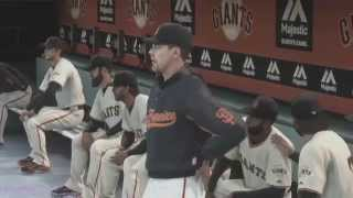 MLB 14: The Show PS4 Full Game -- Braves @ Giants