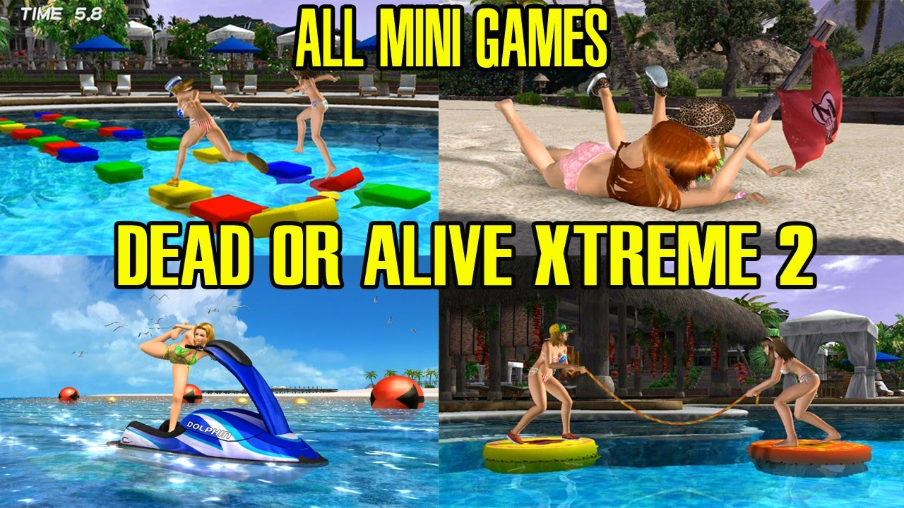 Download Dead Or Alive Xtreme 2 All Mini Games Gameplay