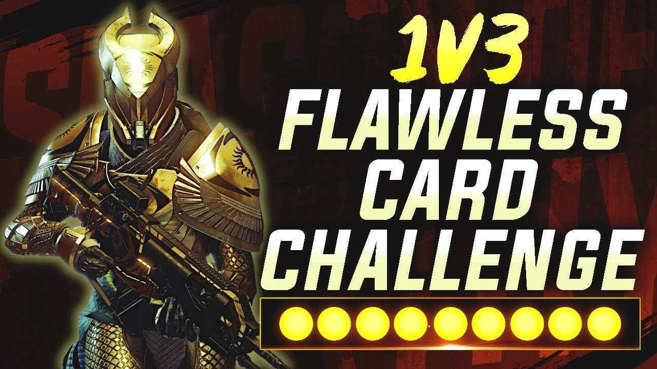 The 1V3 FLAWLESS CARD CHALLENGE! | Trials of Osiris