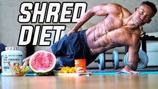 The Best SHREDDING Diet for Fat Loss (ALL MEALS SHOWN!) | DOCTOR MIKE 90 DAY DIET TRANSFORMATION