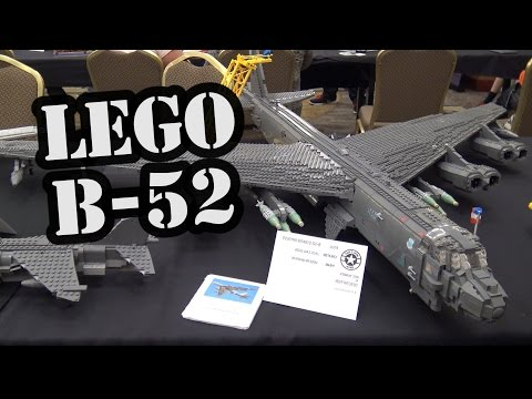 LEGO B-52 Stratofortress Jet Bomber | World War Brick 2017