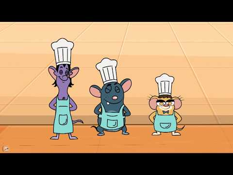 Rat-A-Tat|'Mouse Baby Chef Cooking School Attack Monster Bugs'|Chotoonz Kids Funny Cartoon Videos