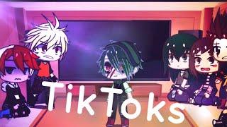 BNHA reacts to TikToks - Part 2 (gacha club)