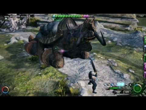 Mobius Final Fantasy Global - Soldier 1st Class Job Gameplay (Pleiades Lagoon Earth)