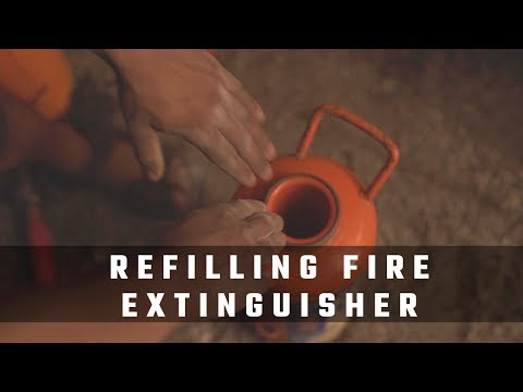 Fire Extinguishers Refilling | How To Refill Fire Extingushers
