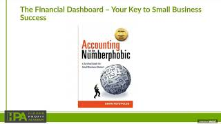 The Financial Dashboard – Your Key to Small Business Success