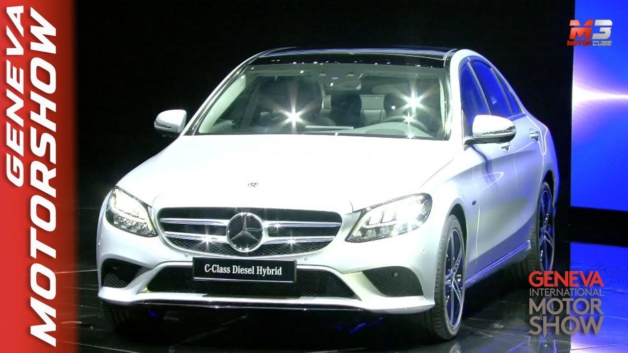 New Mercedes Classe C Al Salone Di Ginevra 2018 Press Conference