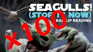 Seagulls Stop It Now but everytime he says 'Seagulls' it gets faster