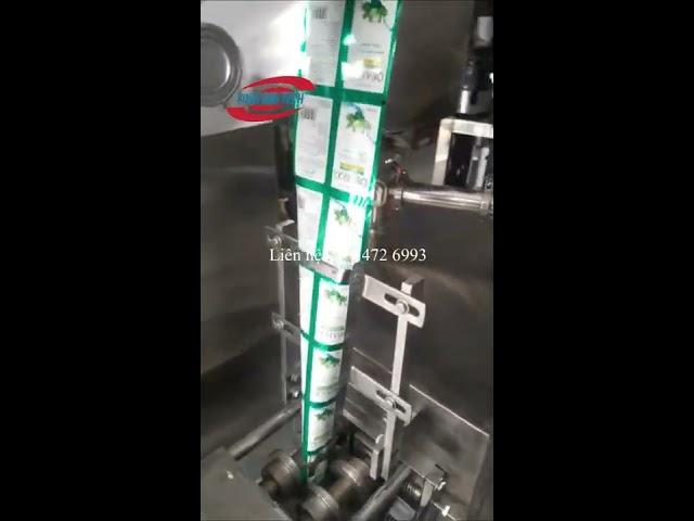 Máy đóng gói dầu gội đầu Vinafoodtech - Tốc độ đóng gói nhanh, chất lượng cao, giá đầu tư hiệu quả