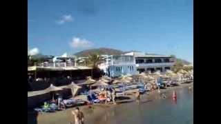 Nana Beach, Crete. Пляж Нана, Крит.(Видео для блога: http://sergiisolodkyi.blogspot.com/2014/07/blog-post_16.html Замечательный пляж, расположенный в уютной бухточке..., 2013-12-29T10:57:15.000Z)