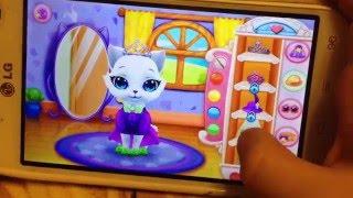 Детский обзор игры Kitty Love на телефоне