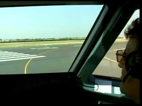 Armenian Int'l A320 EK-32001 - Takeoff Cockpit Video!