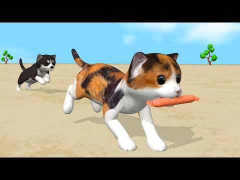 Cat And Dog - Cartoon For Children