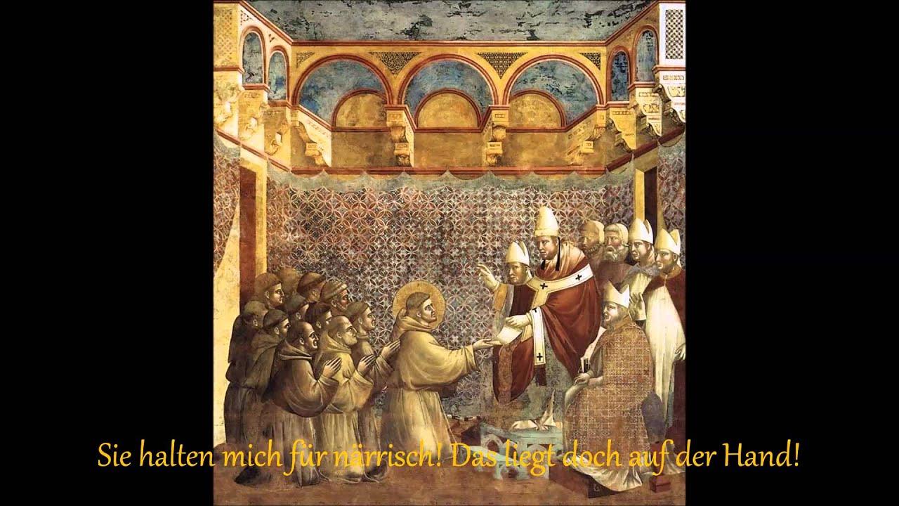 Giovanni Bernardone Franz Von Assisi Mit Liedtext With Lyrics