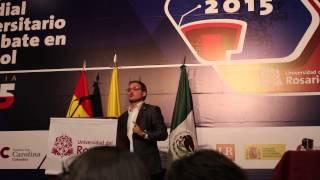 Daniel Cardona en la Final CMUDE 2015