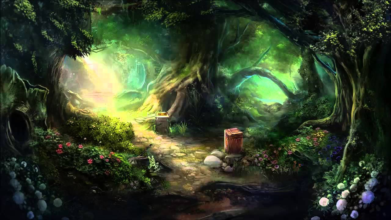 Magic Forest (Old Version) Fantasy Ambient music - YouTube