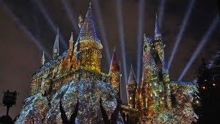 """The Magic of Christmas at Hogwarts Castle"" 2018 at Universal Orlando"