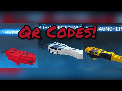 Beyblade Burst All Launchers Qr Codes!