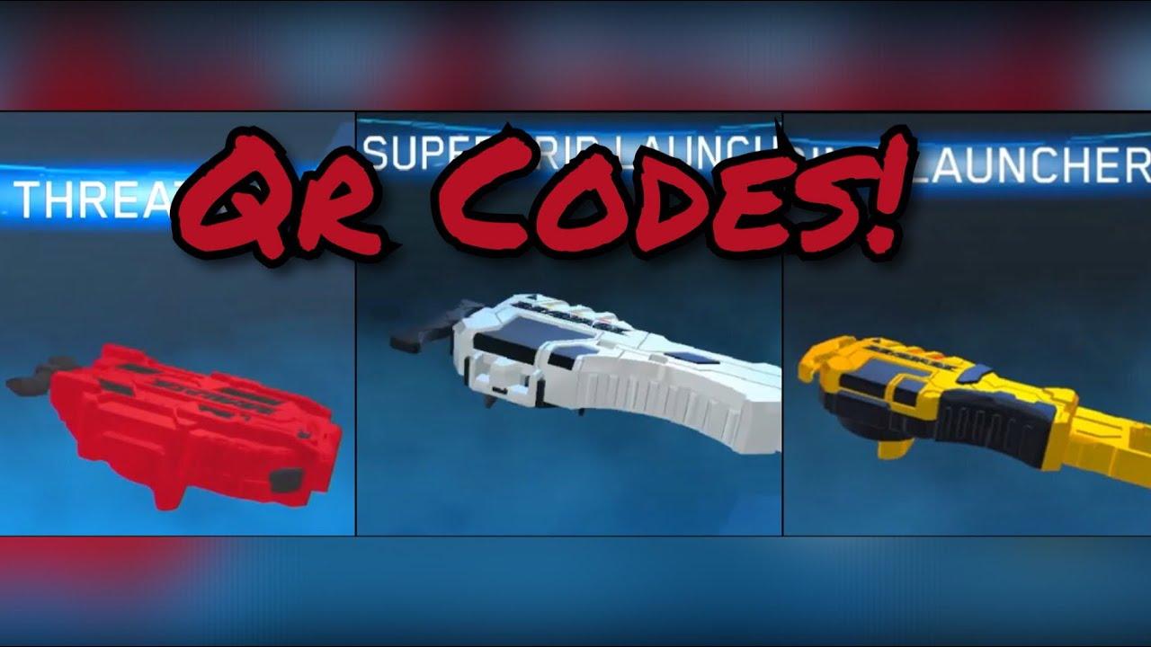 Beyblade Burst All Launchers Qr Codes! #1