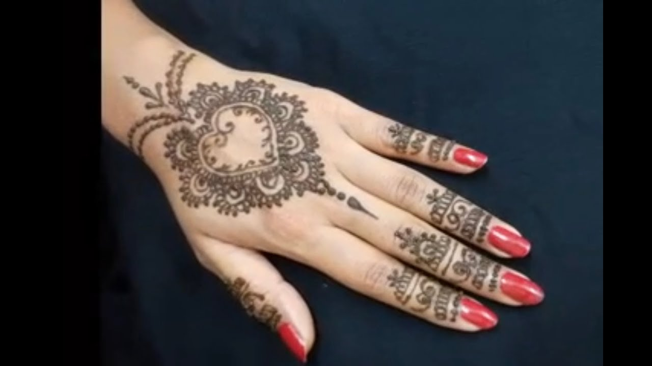 Top 10 beautiful arabic mehndi design art - Top 10 Beautiful Arabic Mehndi Design Art 27