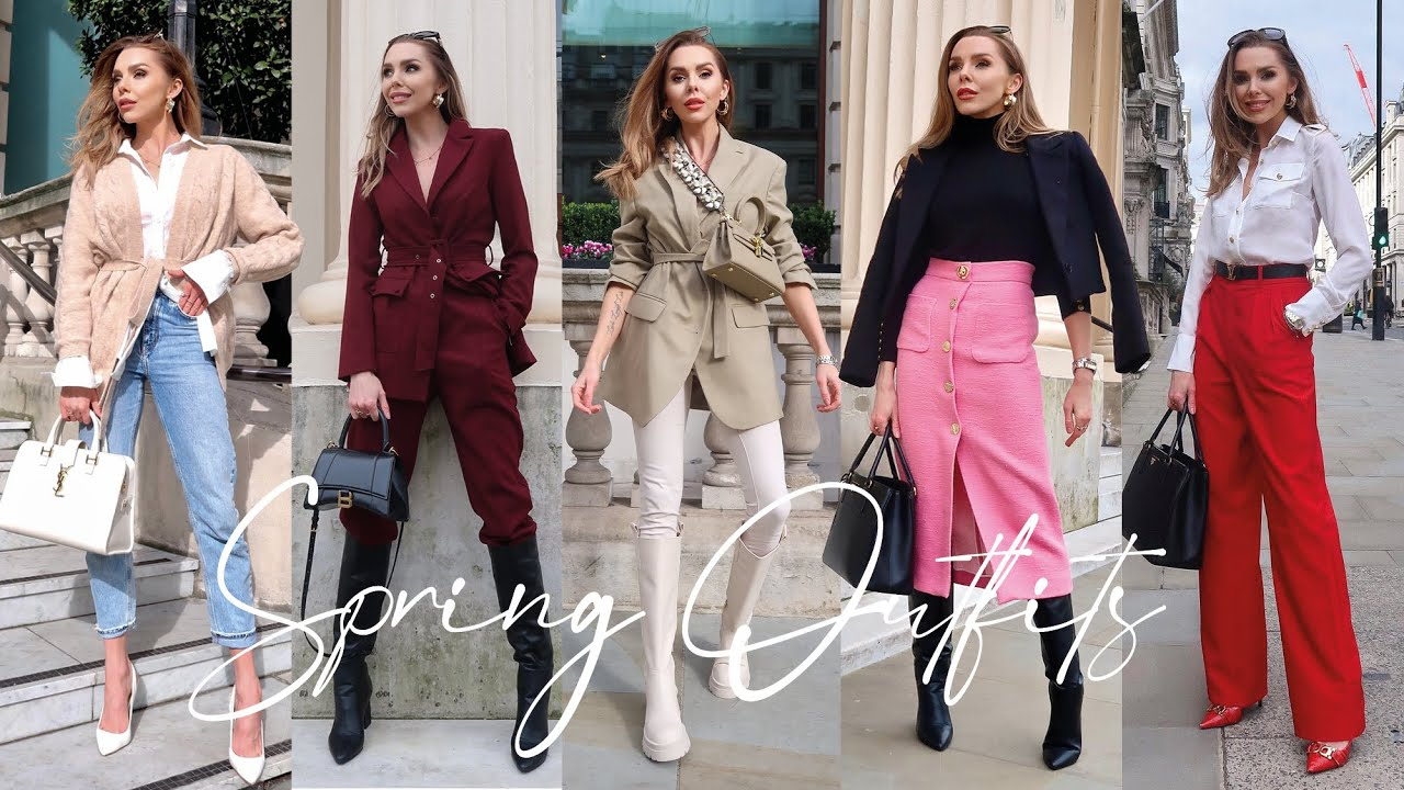 CLASSY & CHIC OUTFIT IDEAS for Spring 2021 // Streetstyle Lookbook