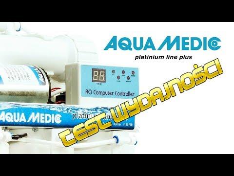 AQUA MEDIC  - RO Platinum Line Plus #2 - TEST WYDAJNOŚCI