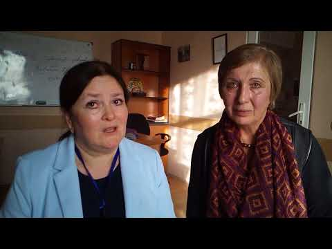 Adult Education and Development Conference, Tbilisi, October 2017  Interview with Madona Okropiridze